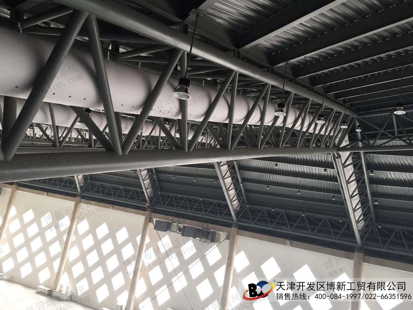 运用国际领先大跨度空间结构技术